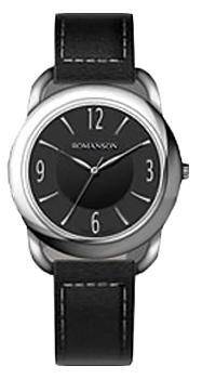 Женские часы Romanson RL1220LW(BK)BK