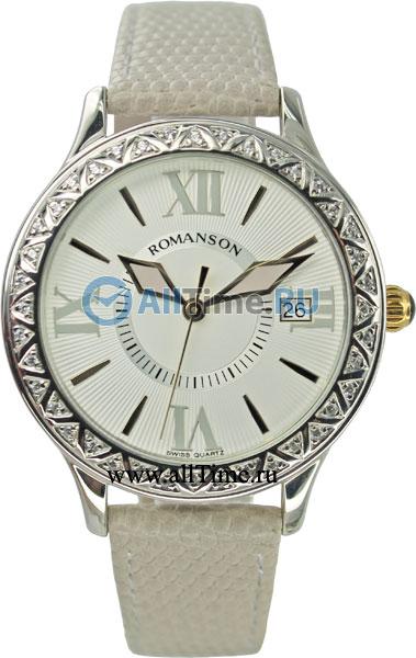 Женские часы Romanson RL1222QLC(WH)GR