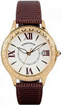 Женские часы Romanson RL1222QLG(WH)BN