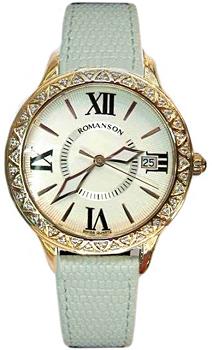 Женские часы Romanson RL1222QLR(WH)WH