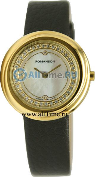 Женские часы Romanson RL1251QLG(WH)