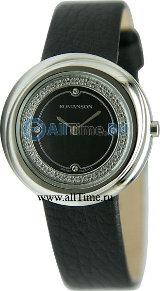 Женские часы Romanson RL1251QLW(BK)