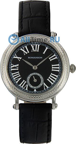 Женские часы Romanson RL1253BLW(BK)BK