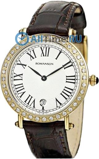 Женские часы Romanson RL1253QLG(WH)BN