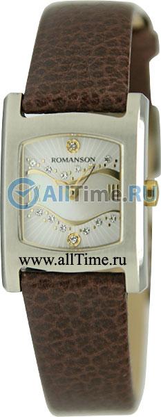 Женские часы Romanson RL1254LC(WH)