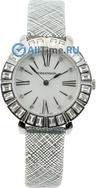Женские часы Romanson RL1255TLW(WH)BK