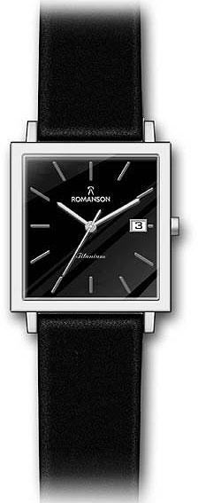 Мужские часы Romanson DL2133SMW(BK)