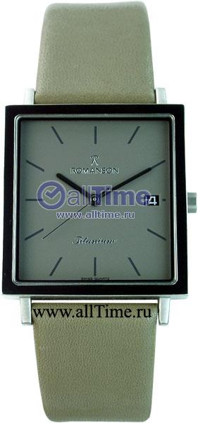 Мужские часы Romanson DL2133SMW(GR)