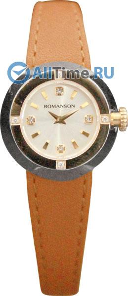 Женские часы Romanson RL2611QLJ(WH)TAN