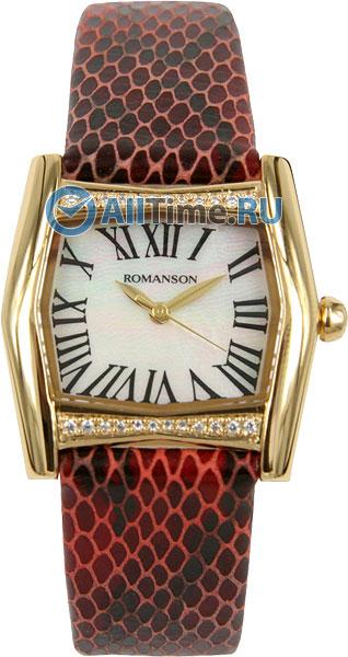 Женские часы Romanson RL2623QLG(WH)