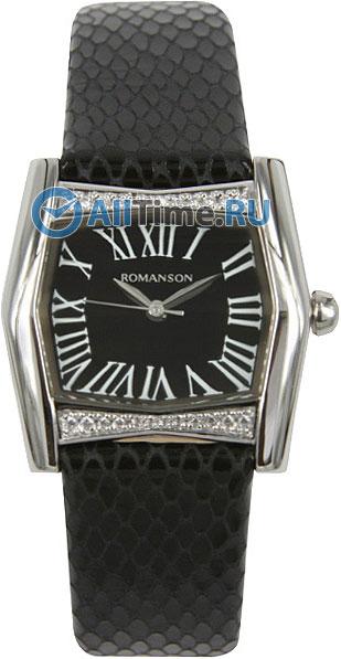 Женские часы Romanson RL2623QLW(BK)BK