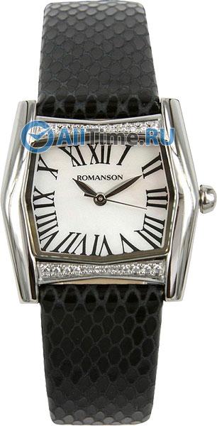 Женские часы Romanson RL2623QLW(WH)BK