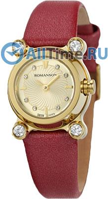 Женские часы Romanson RL2634QLG(GD)RED