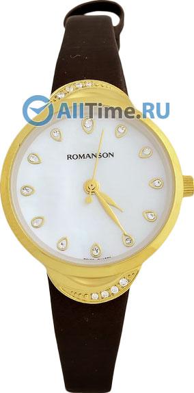 Женские часы Romanson RL4203QLG(WH)BN