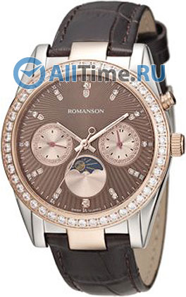 Женские часы Romanson RL4210QLJ(BR)
