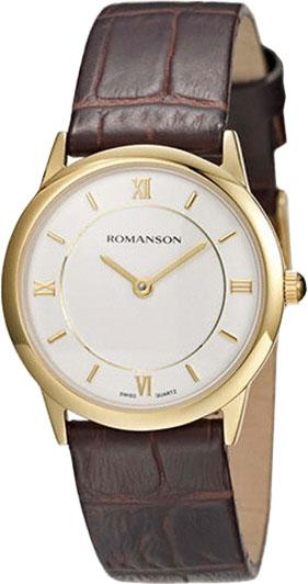Женские часы Romanson RL4268LG(WH)