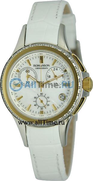 Женские часы Romanson RL8275QLC(WH)
