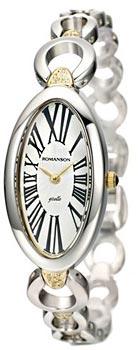 Женские часы Romanson RM0348QLC(WH)