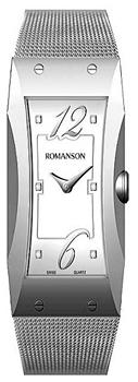 Женские часы Romanson RM0359LW(WH)