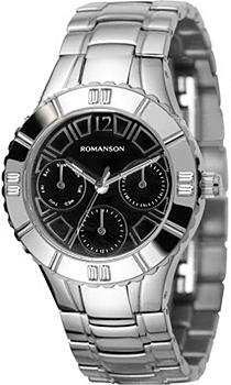 Женские часы Romanson RM0380TLW(BK)