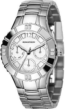 Женские часы Romanson RM0380TLW(WH)