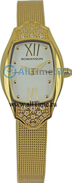 Женские часы Romanson RM1266QLG(WH)