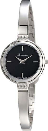 Женские часы Romanson RM4234QLW(BK)