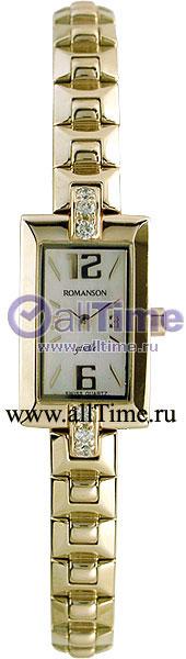 Женские часы Romanson RM5113QLG(WH)