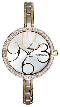 Женские часы Romanson RM7283QLJ(WH)