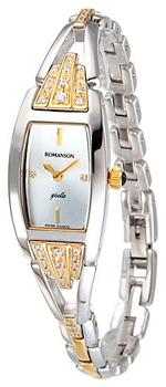 Женские часы Romanson RM8272QLC(WH)