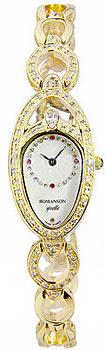 Женские часы Romanson RM9207QLG(WH)