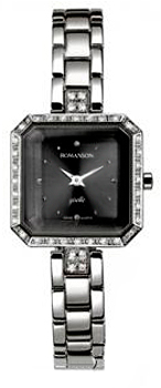 Женские часы Romanson RM9221QLW(BK)