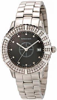 Женские часы Romanson RM9229TLW(BK)