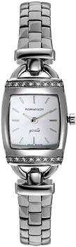 Женские часы Romanson RM9237QLW(WH)