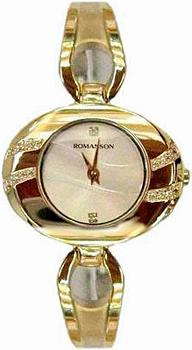 Женские часы Romanson RN0391QLG(WH)