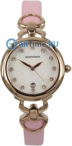 Женские часы Romanson RN2622LR(WH)PK
