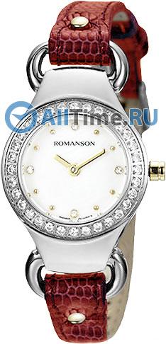 Женские часы Romanson RN2633QLC(WH)RED