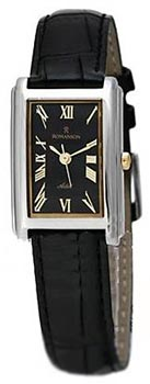 Женские часы Romanson TL0110SLW(BK)