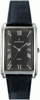 Мужские часы Romanson TL0110SMW(BK)