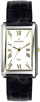 Мужские часы Romanson TL0110SXC(WH)