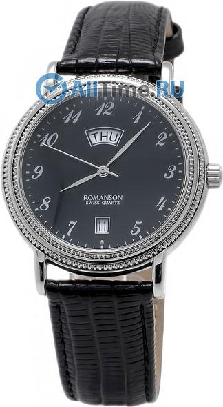 Мужские часы Romanson TL0159SMW(BK)