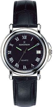 Мужские часы Romanson TL0160SMW(BK)