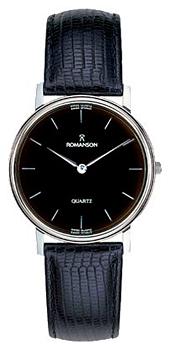 Мужские часы Romanson TL0161SMW(BK)