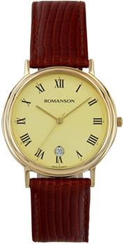 Мужские часы Romanson TL0162SMG(GD)
