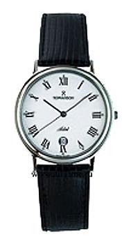 Мужские часы Romanson TL0162SMW(BK)