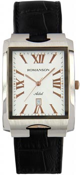 Мужские часы Romanson TL0186SXJ(WH)