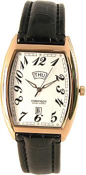 Мужские часы Romanson TL0225SXR(WH)