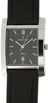 Мужские часы Romanson TL0226SXW(BK)