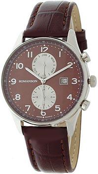 Мужские часы Romanson TL0329BMW(BROWN)