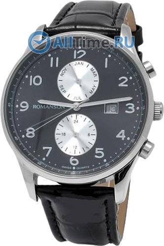 Мужские часы Romanson TL0329CMW(BK)